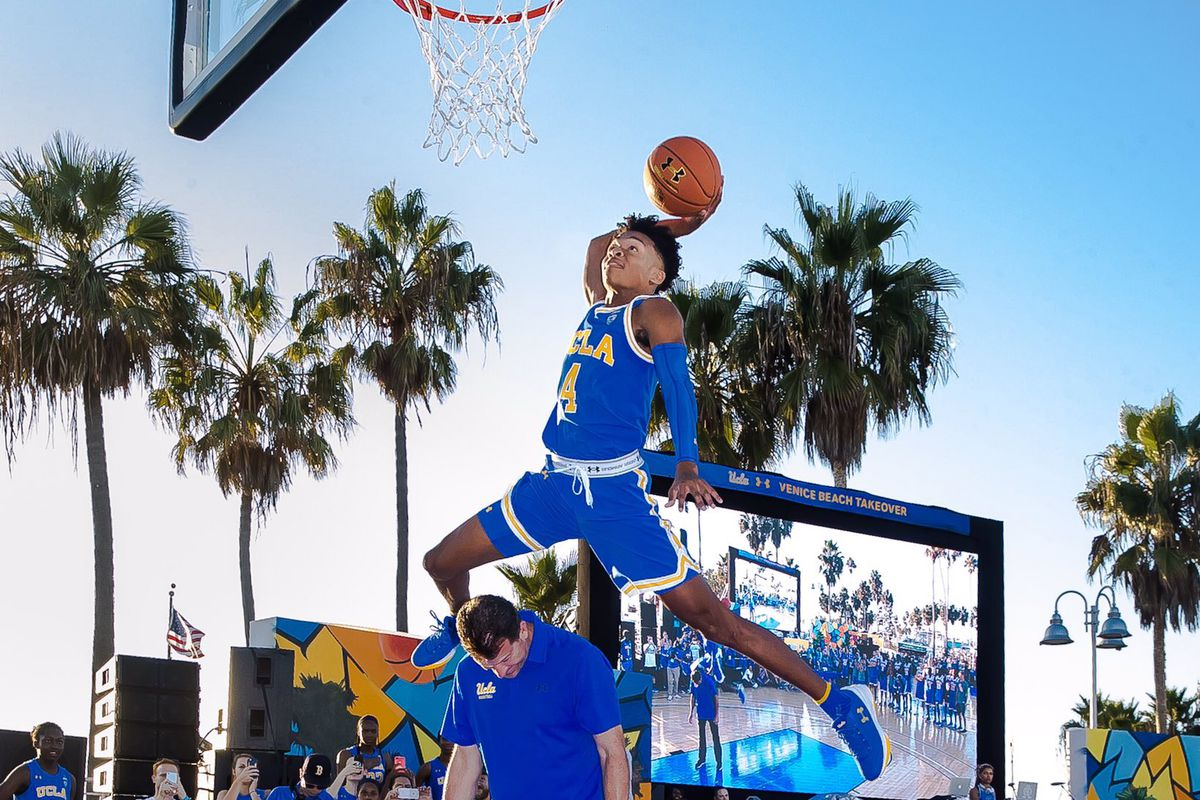 best website 06158 2a659 What's Bruin: Jaylen Hands Makes Quite a Debut in a UCLA ...