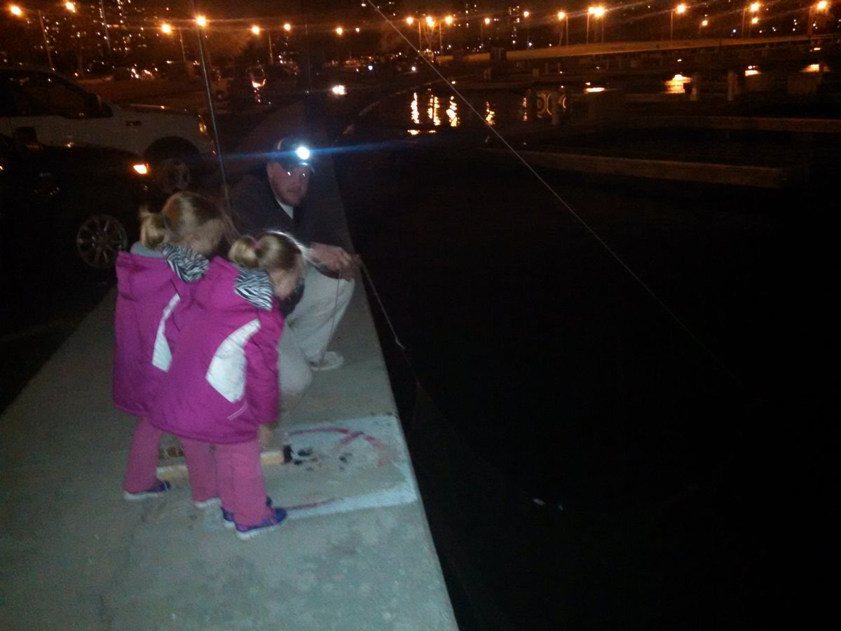 Smelt fishing should be a family affair on the Chicago lakefront; smelting opens Saturday, April 1.<br>Credit: Dale Bowman