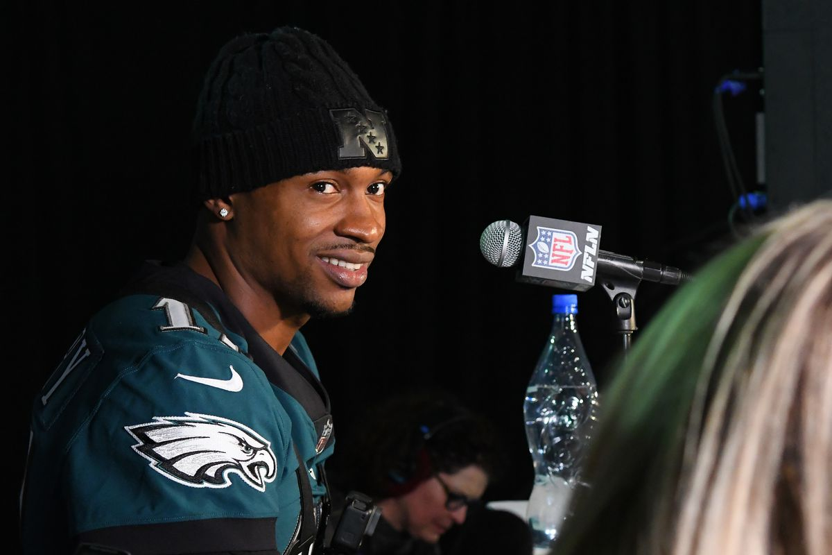 "d2567673d7e Eagles News  Alshon Jeffery says ""we are bringing that trophy back to Philly """