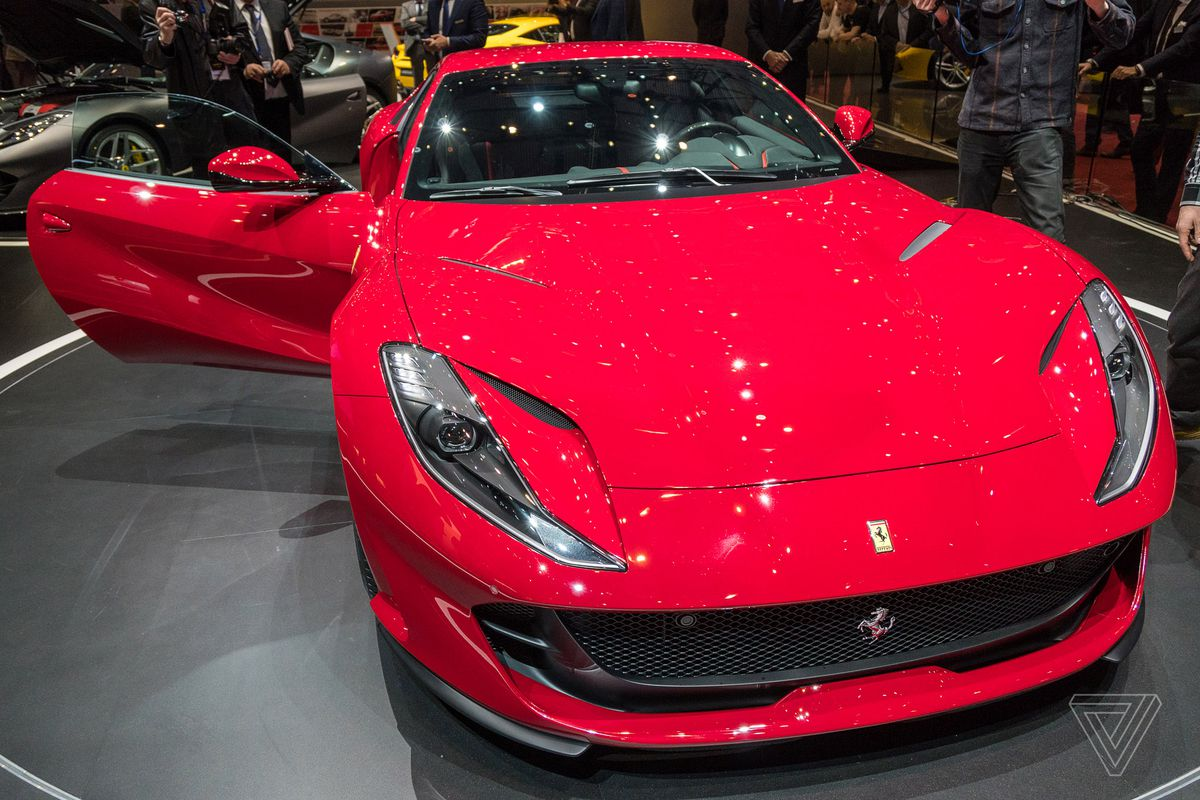 Ferrari Will Make An Electric Supercar And An SUV The Verge - Ferrari car show