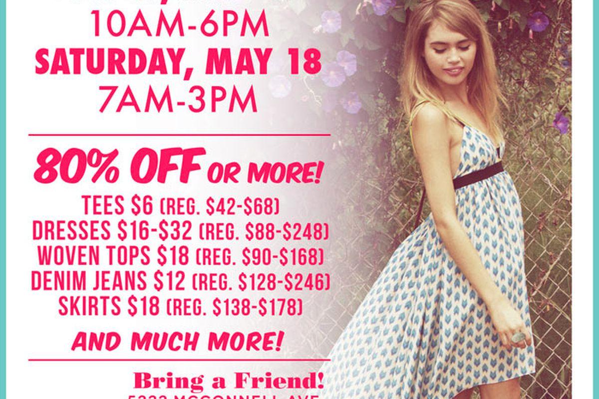 Flyer via LF Stores