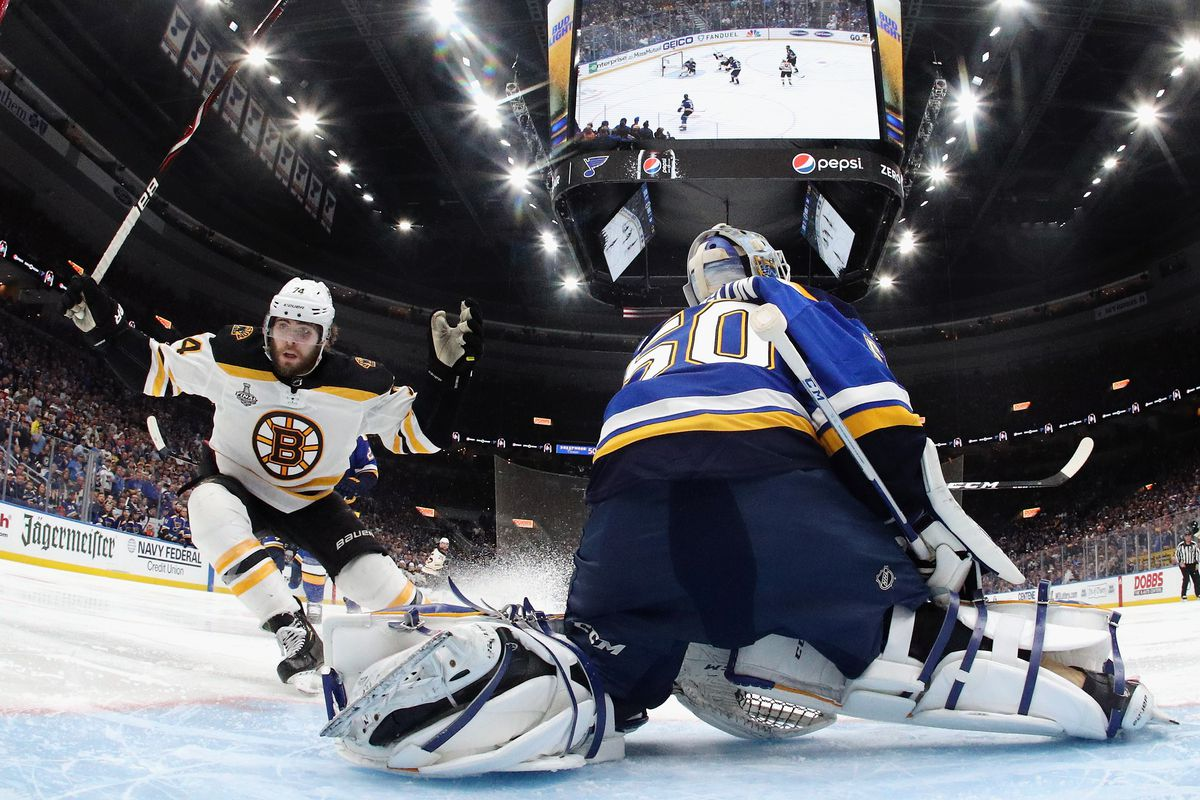 Nhl Postseason Caterwaul Blues Or Bruins Will Hoist The Cup Tonight