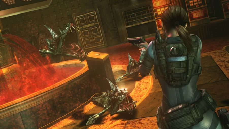 Resident Evil Revelations Shows Playable Hunk In Action