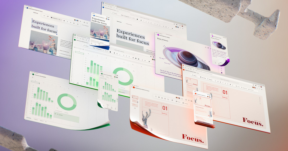 Microsoft teases its future Office UI thumbnail
