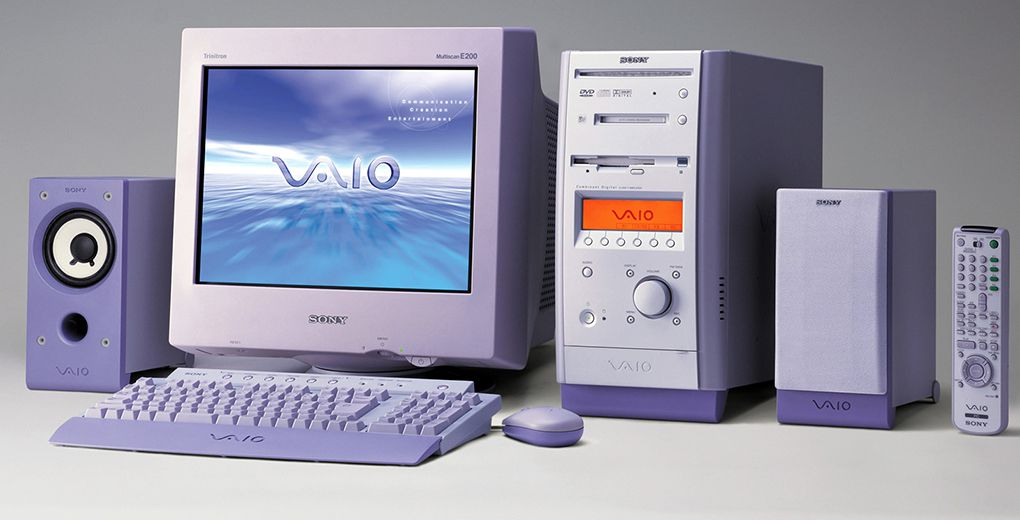 A Look Back At Sony S Iconic Vaio Computers The Verge