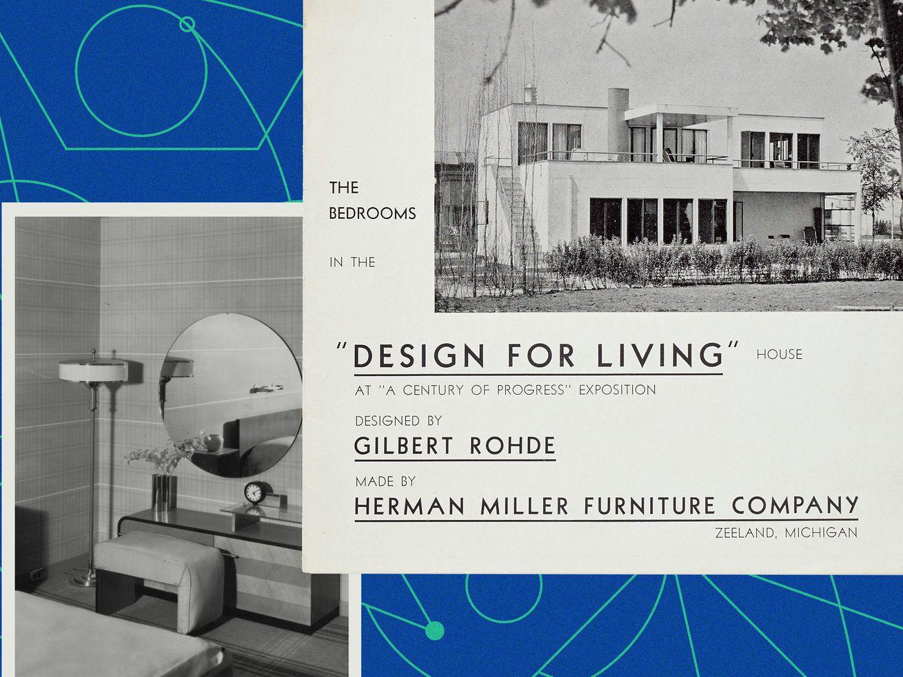 Herman Miller's Design for Living House brochure, 1933.