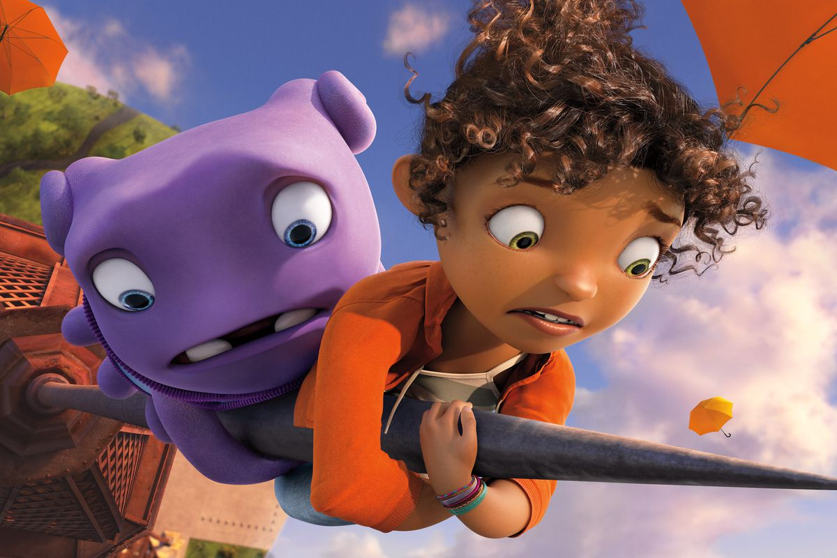 Home, the latest animated kid flick, is actually about