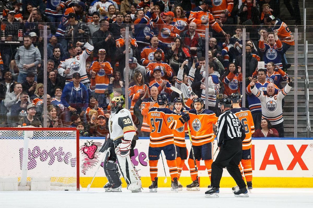 Vegas Golden Knights v Edmonton Oilers