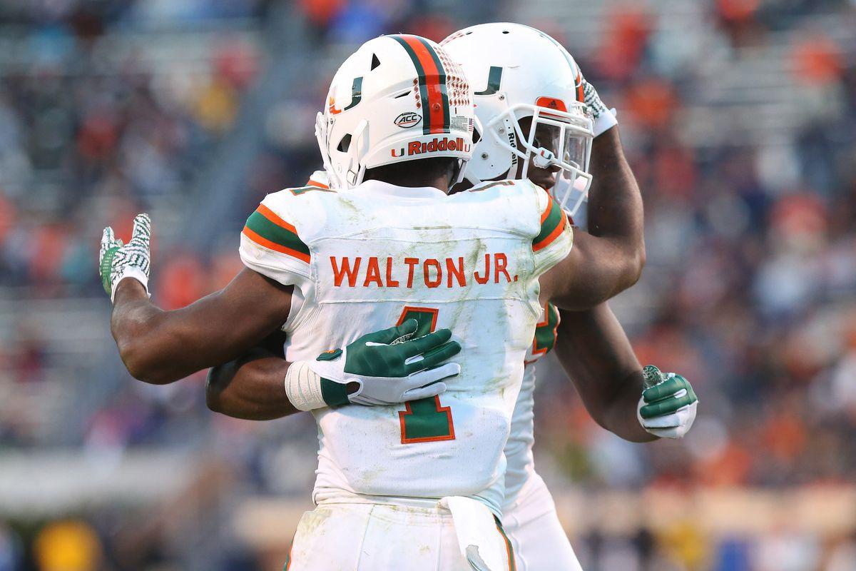 Miami Hurricanes 2018 Nfl Draft Profile Rb Mark Walton