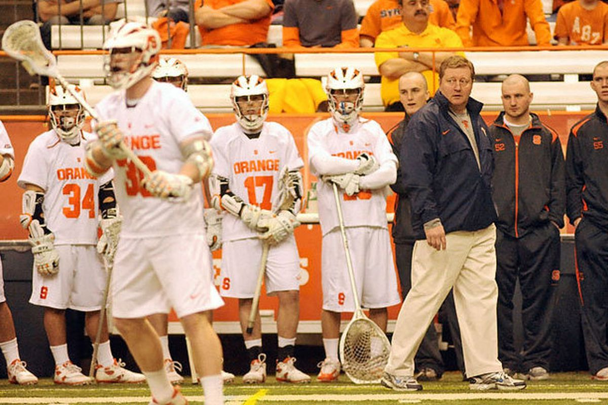 Coach John Desko and the Orange Offense were back on Sunday, but the Orange need to find a way to finish games