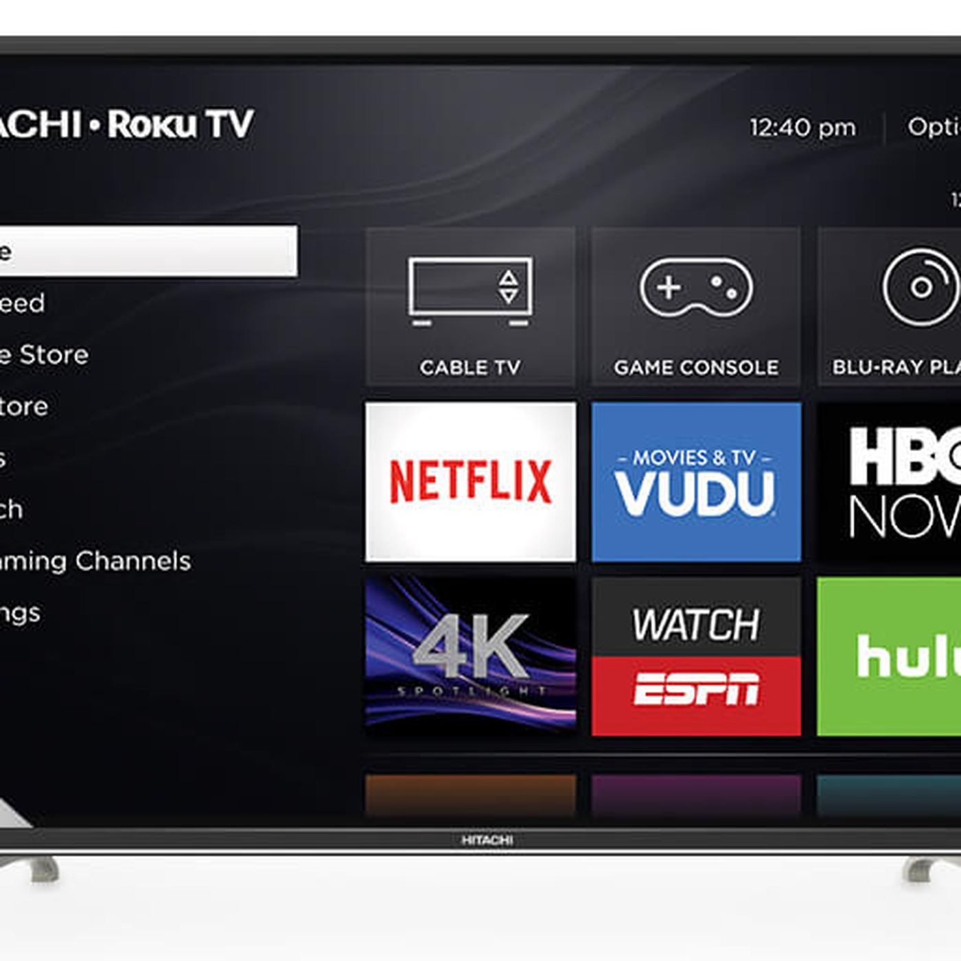 Hitachi's 4K Roku TVs are coming to the US this week - The Verge