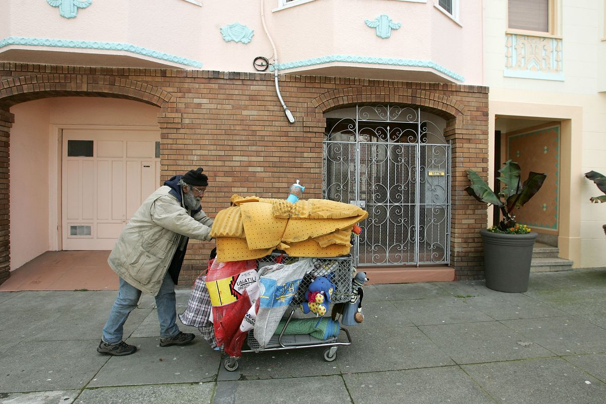 San Francisco has at least 6,600 homeless people.