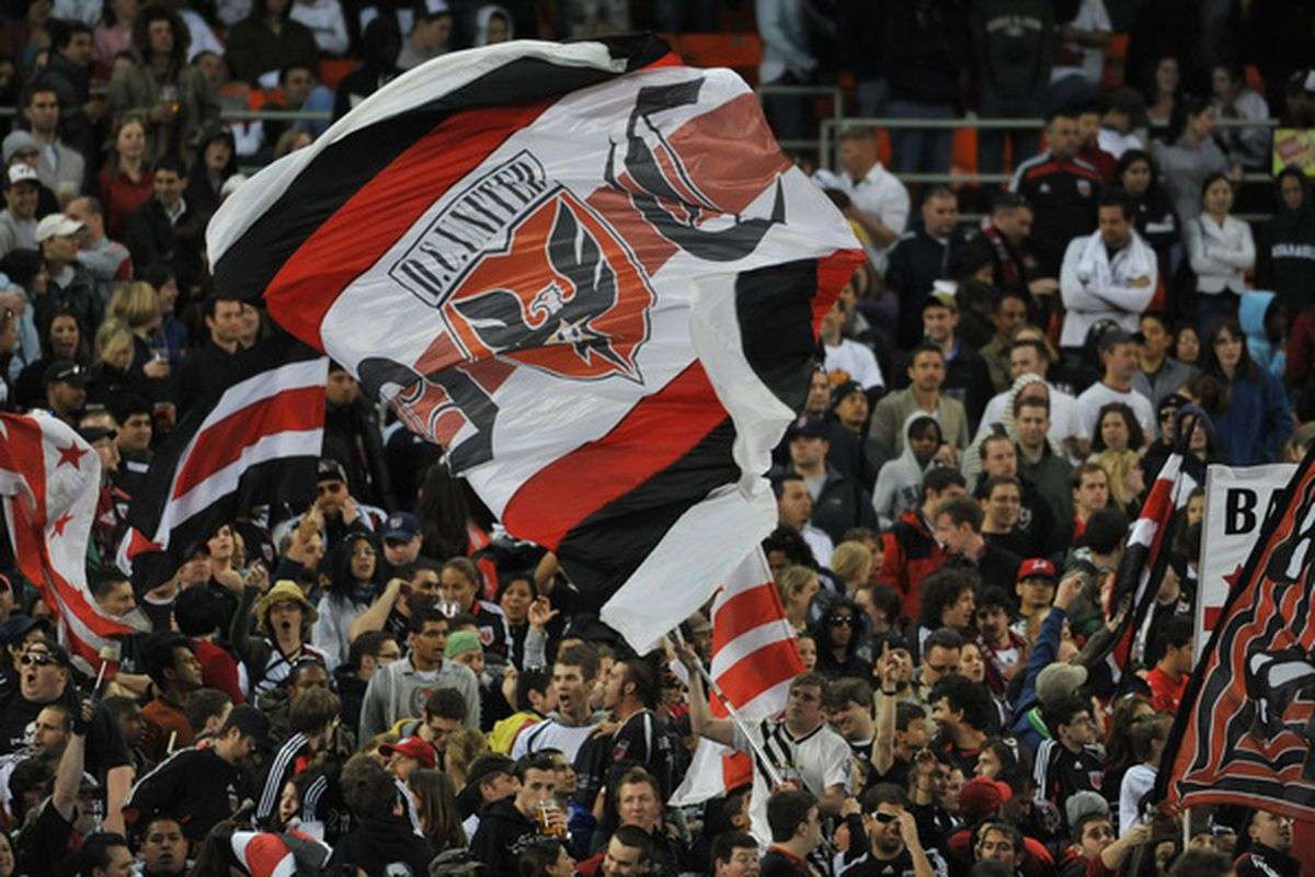 Barra Brava and Screaming Eagles should be in fine voice tonight - welcoming home an US Open Cup Champion'll do that for ya.