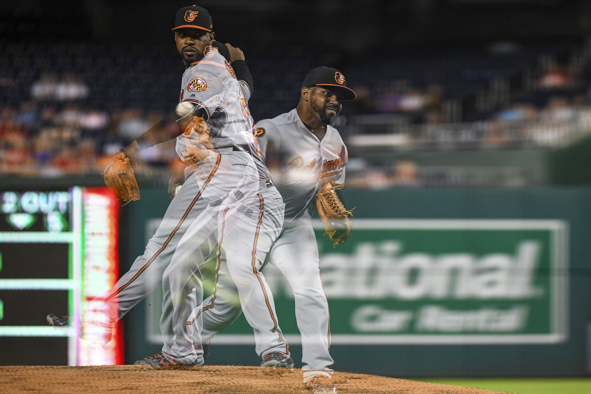 MLB: AUG 27 Orioles at Nationals
