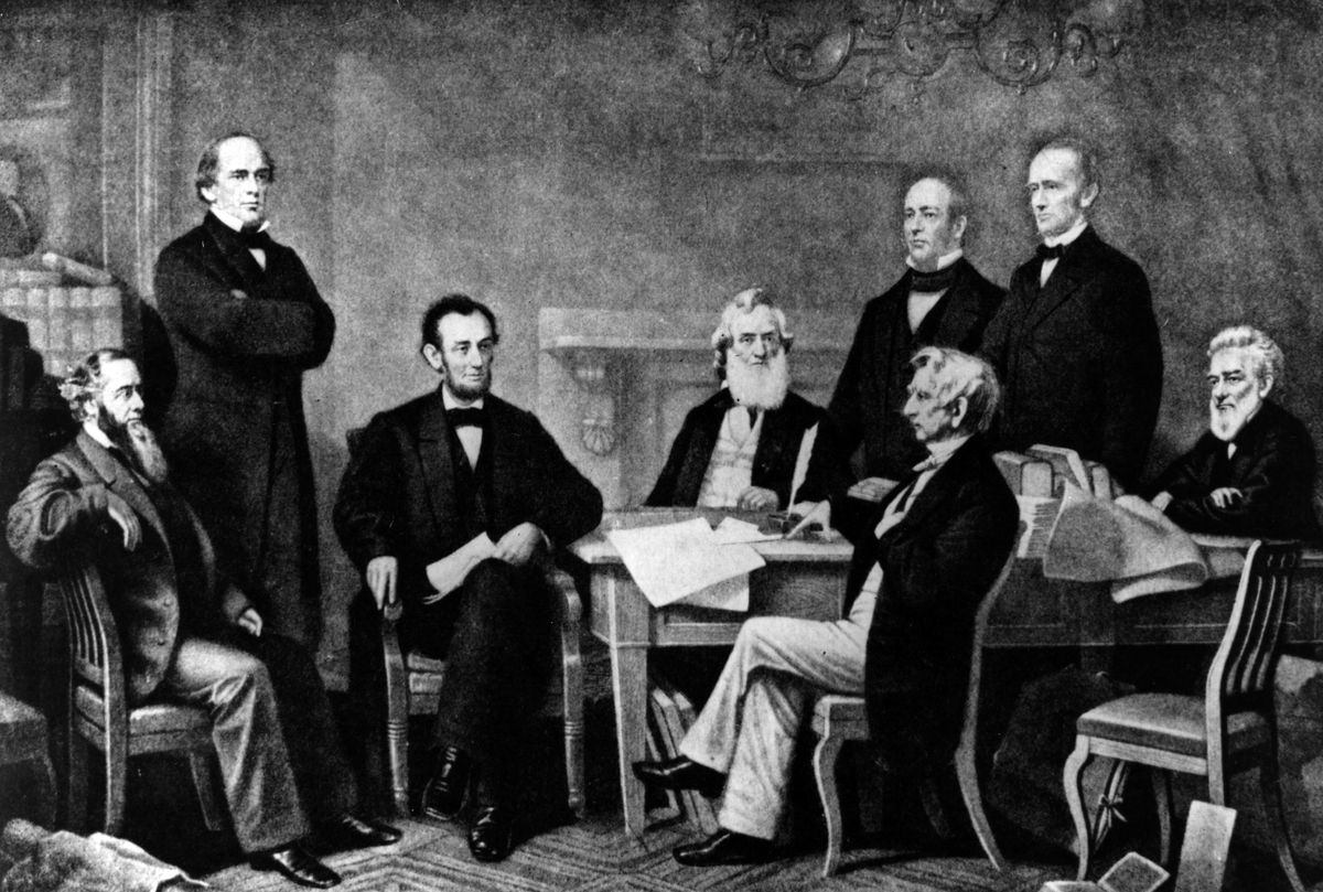 September 22, 1862: Abraham Lincoln at the signing of the Emancipation Proclamation.