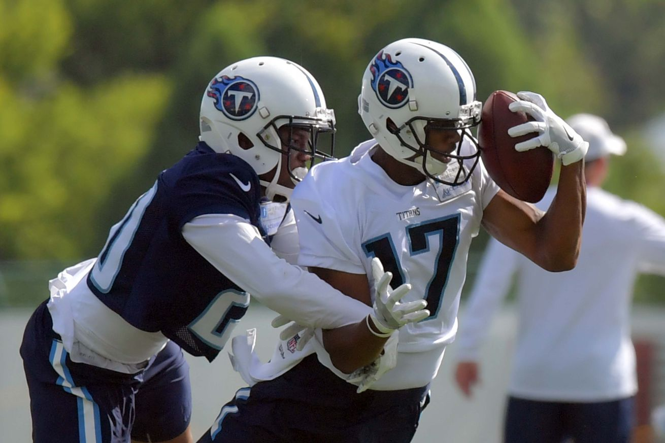 A few observations on the Titans first depth chart