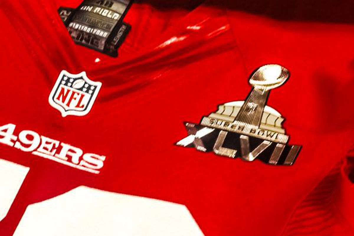 hot sale online eff0e aecca Super Bowl 2013: 49ers to wear cherry red home jerseys ...