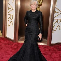 Glenn Close chose a black Zac Posen gown for the Oscars. Find Posen at Outfit at Wynn Las Vegas.