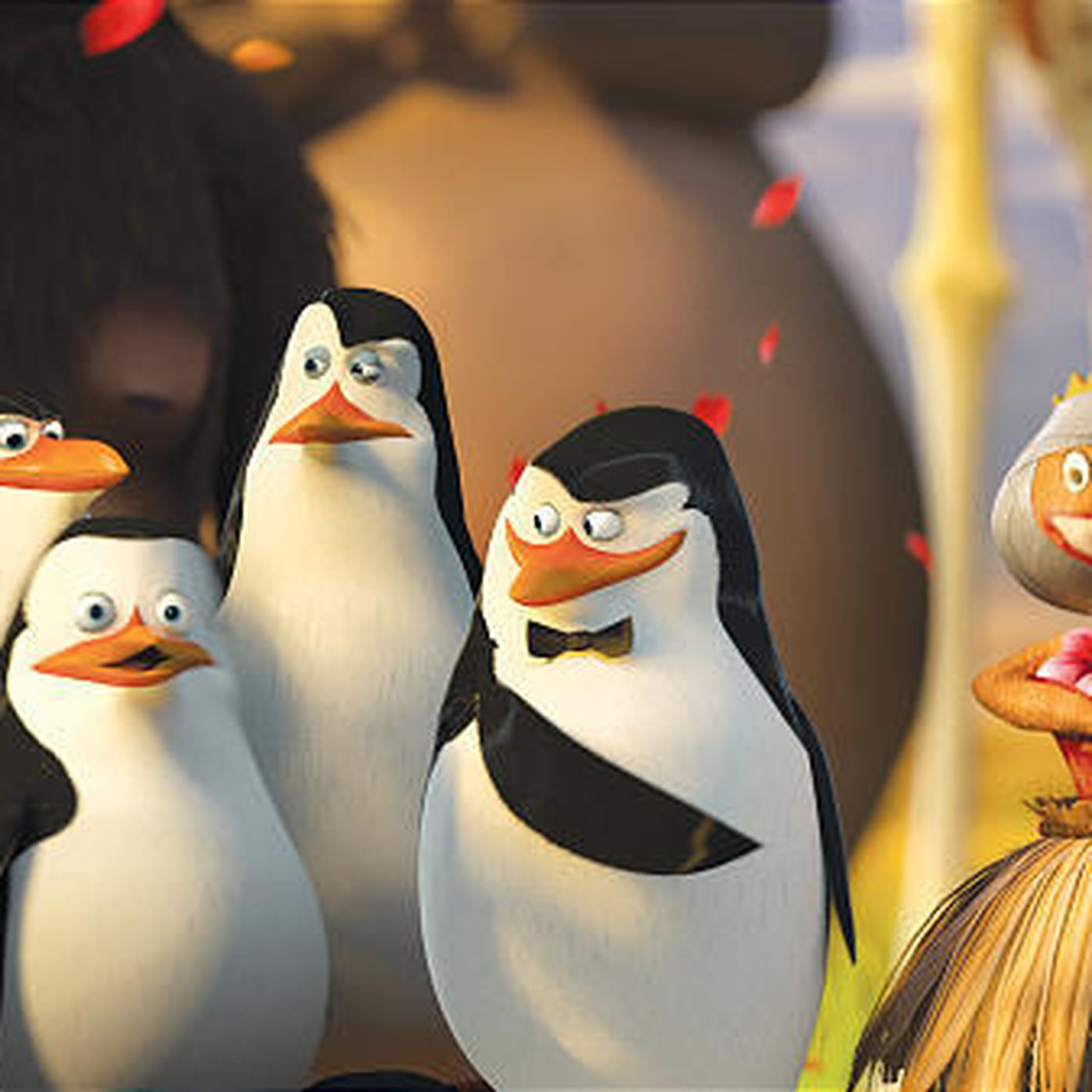 Madagascar' co-director steals show as penguin leader