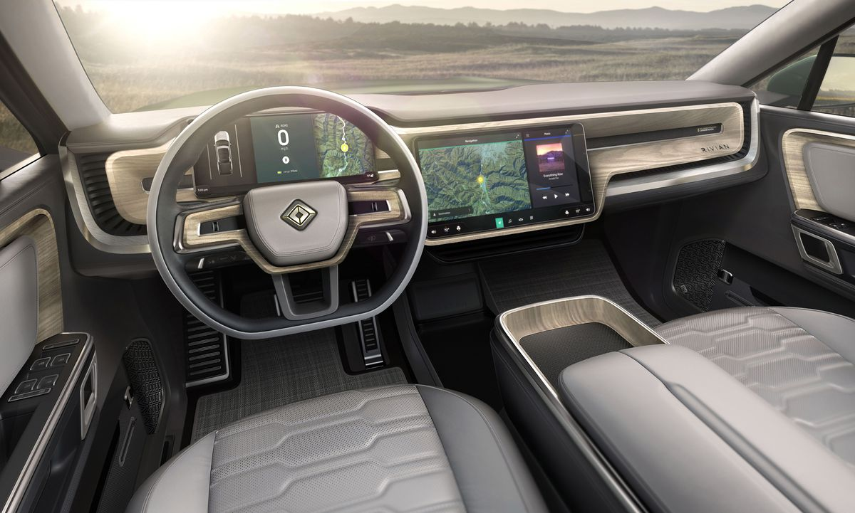Image result for Rivian SUV