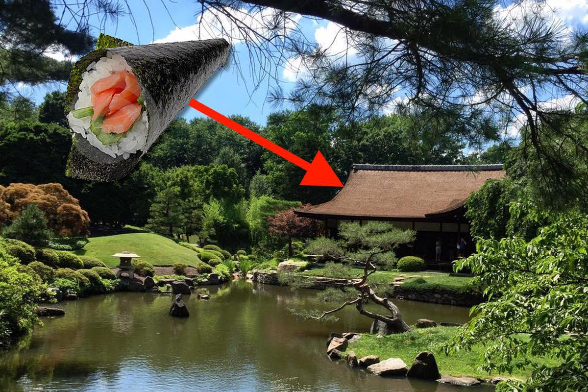Eat Hand Rolls And Chicken Skin At Fairmount 39 S Japanese House Garden This Weekend Eater Philly