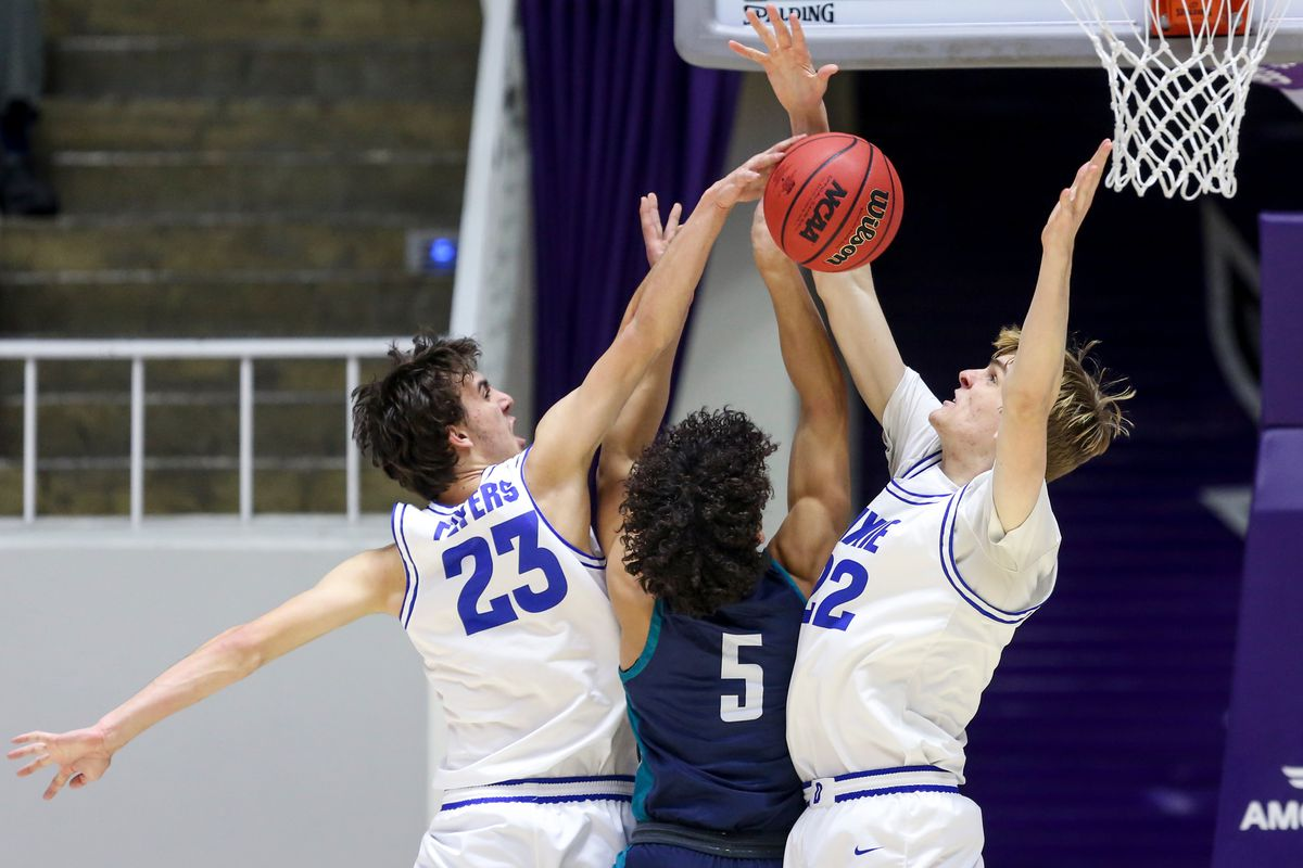 Dixie beats Juan Diego during a 4A boys semifinal basketball game at Dee Events Center in Ogden on Friday, Feb. 28, 2020.