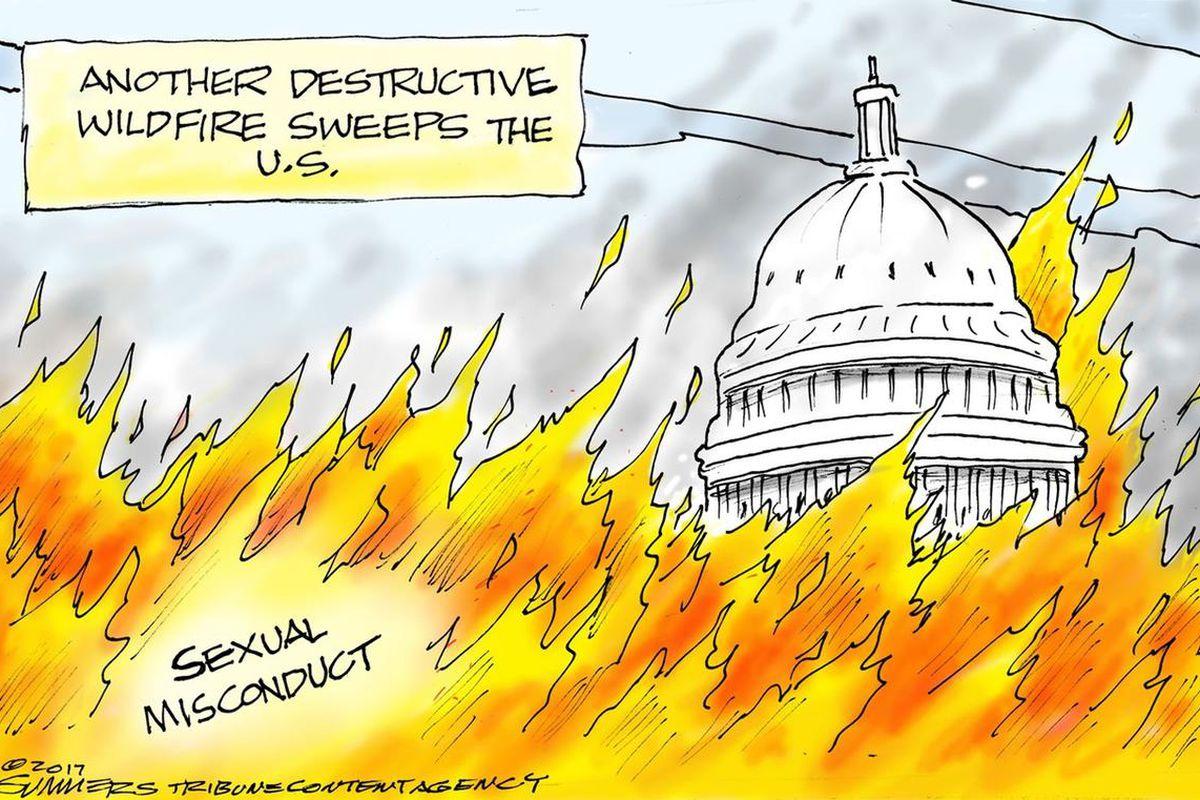 This is a political cartoon.