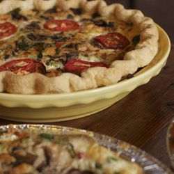 """Begin your day at Eater-<a href=""""http://la.eater.com/archives/2013/03/14/celebrate_pi_day_with_los_angeles_best_pie.php"""">faved</a> pie spot</a> <a href=""""http://www.republicofpie.com"""">Republic of Pie</a> (11118 Magnolia Blvd). Boasting <a href=""""http://repu"""