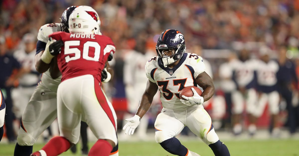 2018 NFL Week 7 Thursday Night Football open thread: Broncos vs. Cardinals