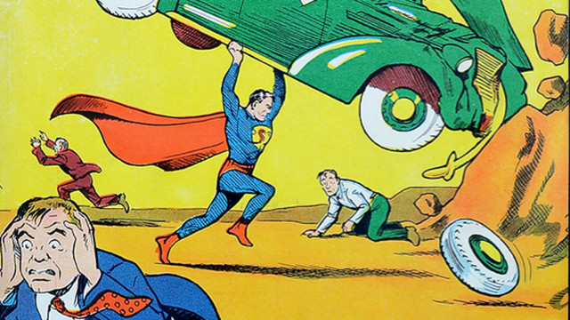 superman comic Action Comics #1