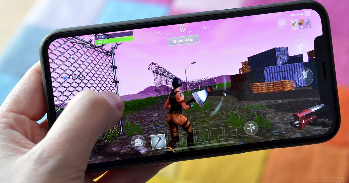 Fortnite On An Iphone X Is An Exciting Look At The Future -4751