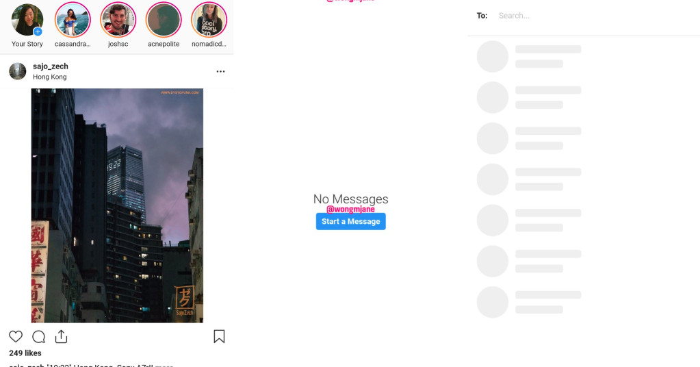 Instagram is testing direct messages for the web - The Verge
