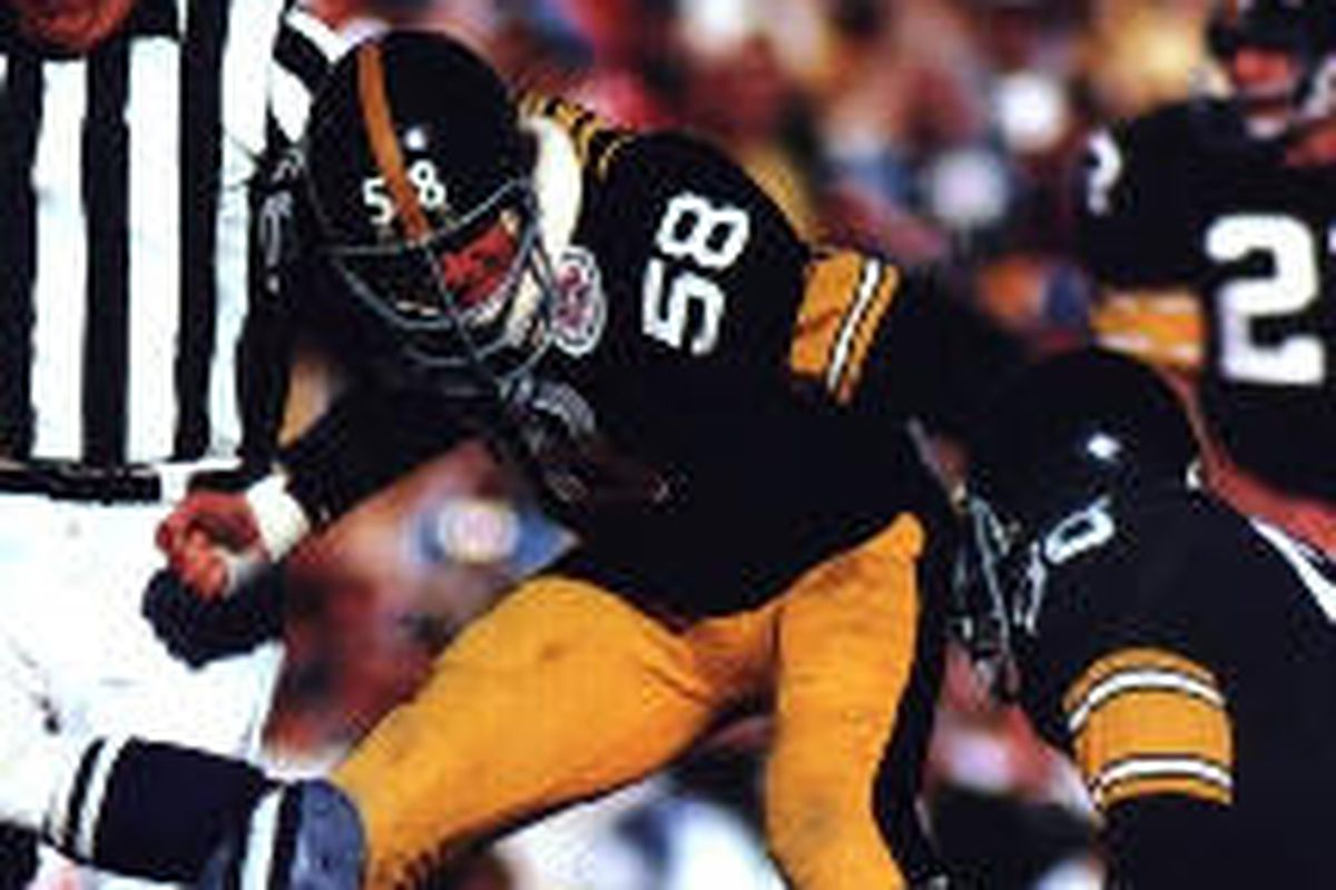 7bd500ac399 Steelers Film Room Throwback Thursday  Linebacker Jack Lambert was the  Master of Intimidation