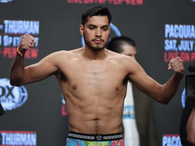 Manny Pacquiao v Keith Thurman - Weigh-in