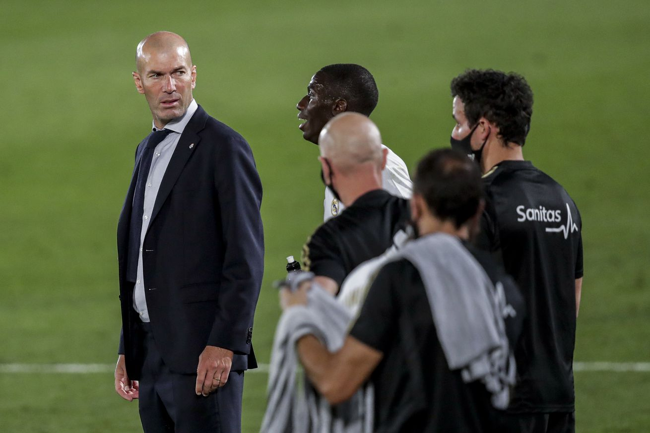 Zidane: ?There?s a need for balance between defence and attack?