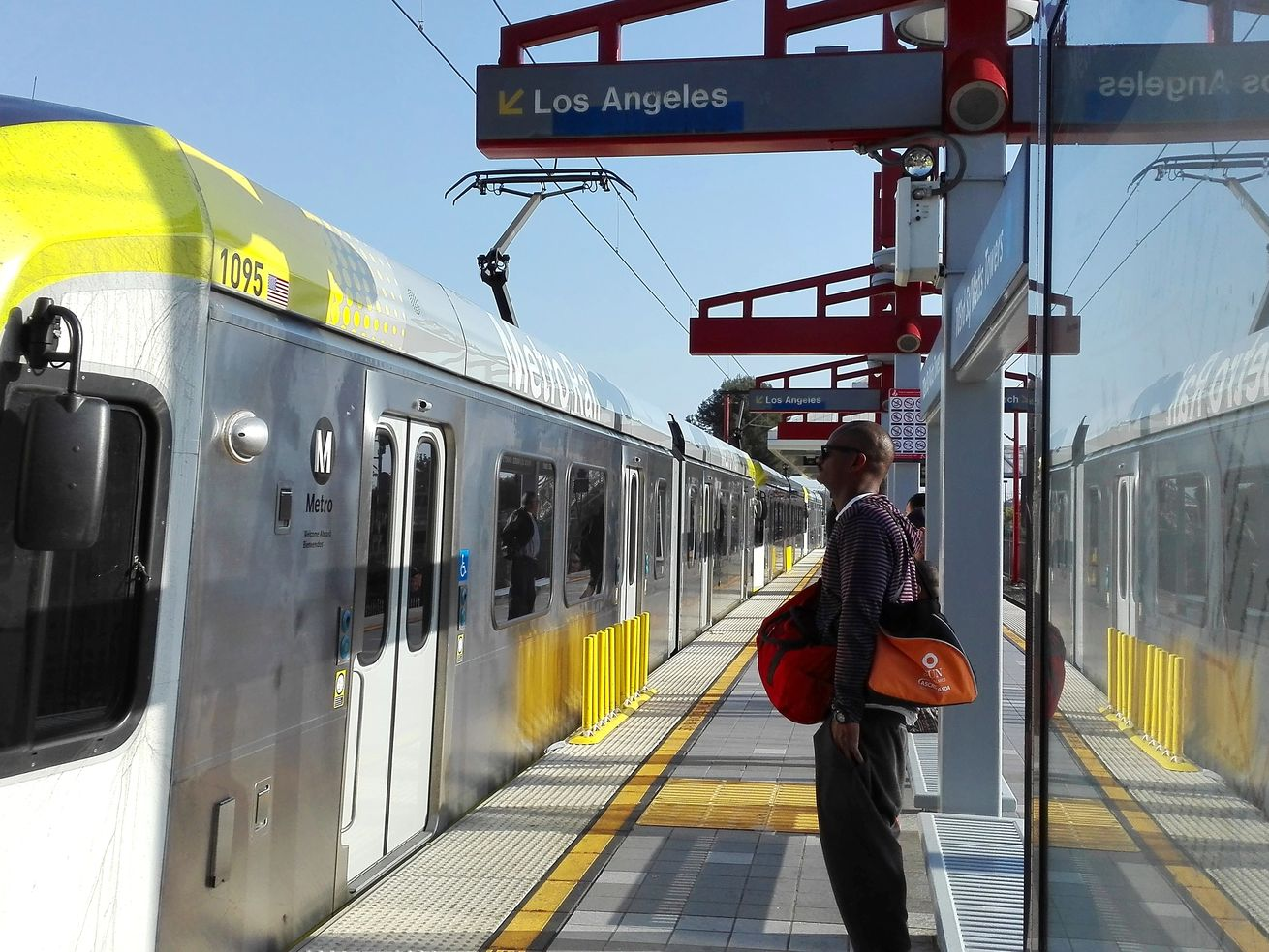 Riders can take Metro trains and buses free of charge on election day.