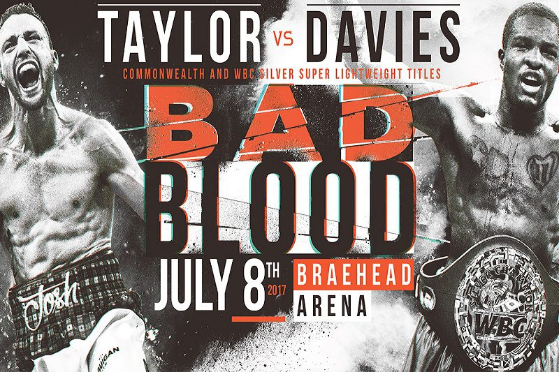 Taylor vs Davies, more: Boxing fight times and TV schedule
