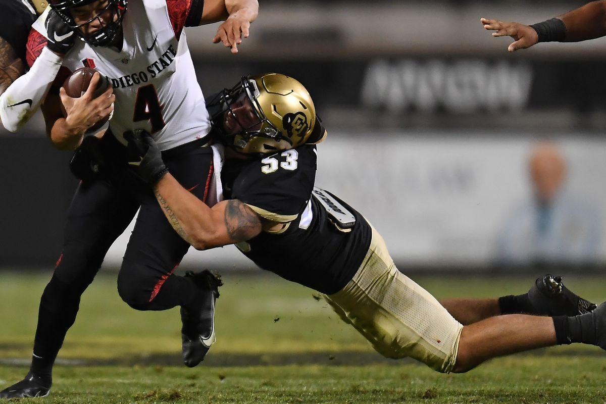 NCAA Football: San Diego State at Colorado