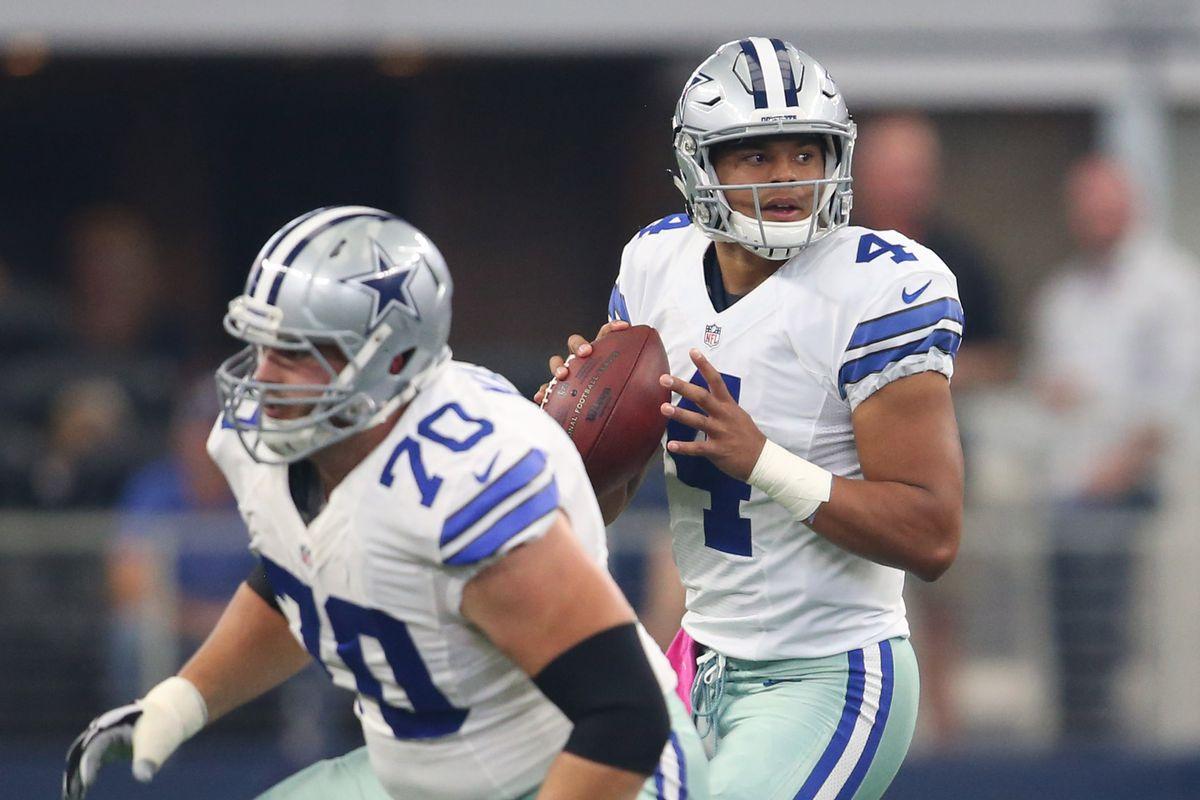 Cowboys News ESPN says Dak Prescott is underrated Zack Martin is