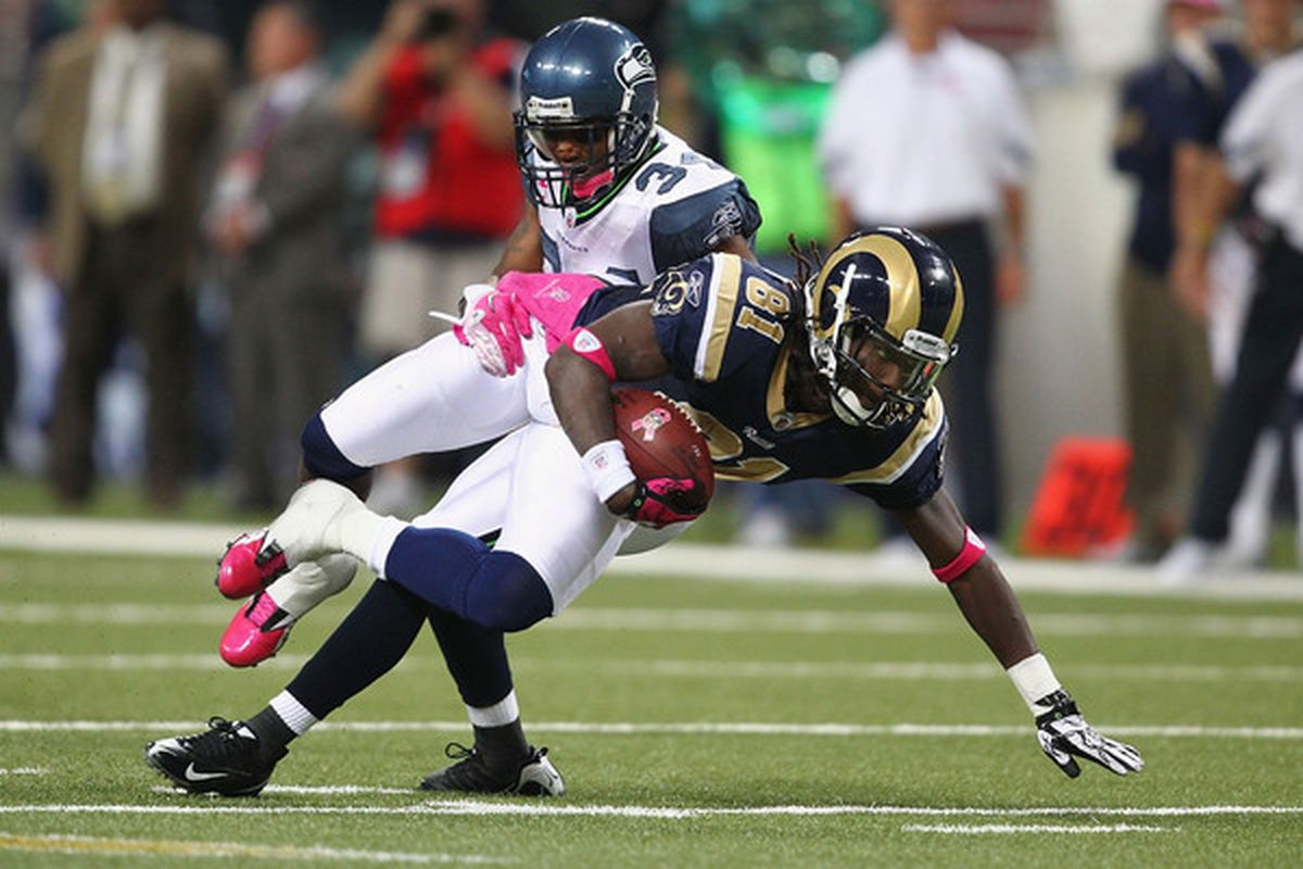 Mardy Gilyard has seen very little action with the St. Louis Rams in recent weeks. Will he contribute soon to an offense in need of receiving help?