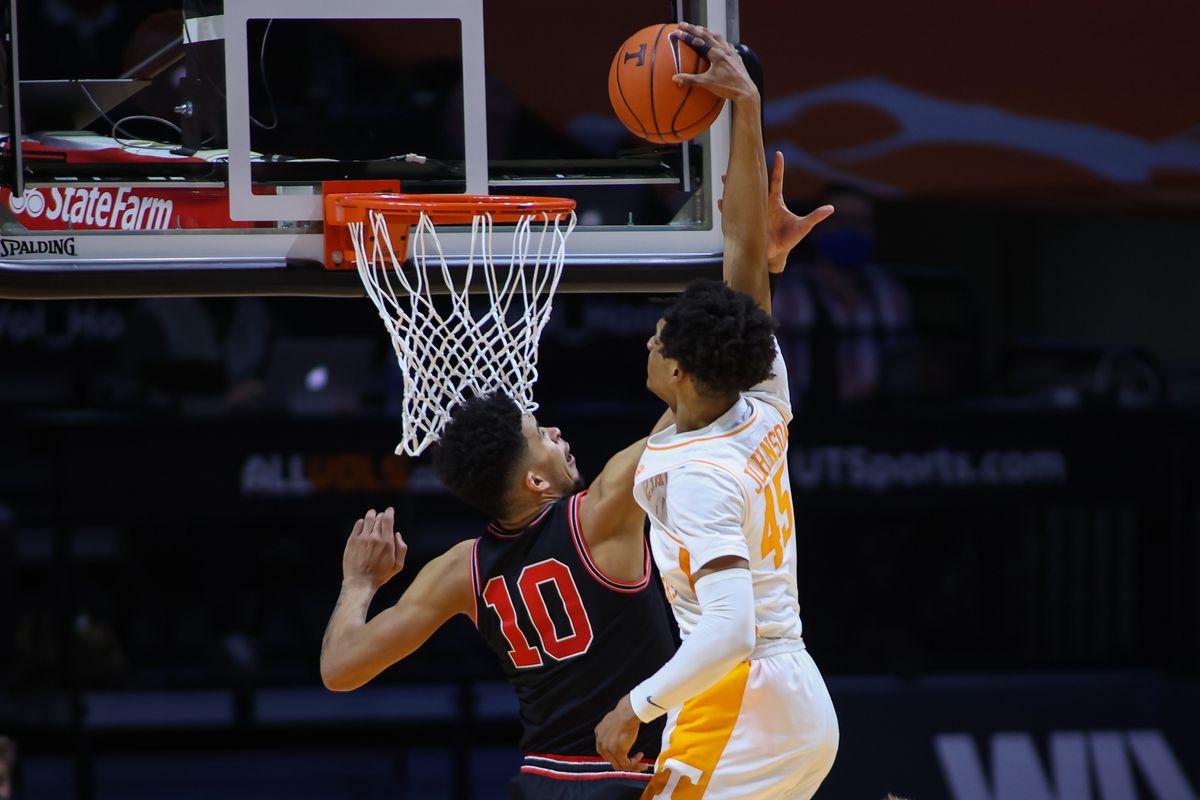 NCAA Basketball: Georgia at Tennessee
