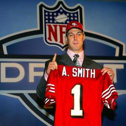 Alex Smith at 2005 NFL Draft