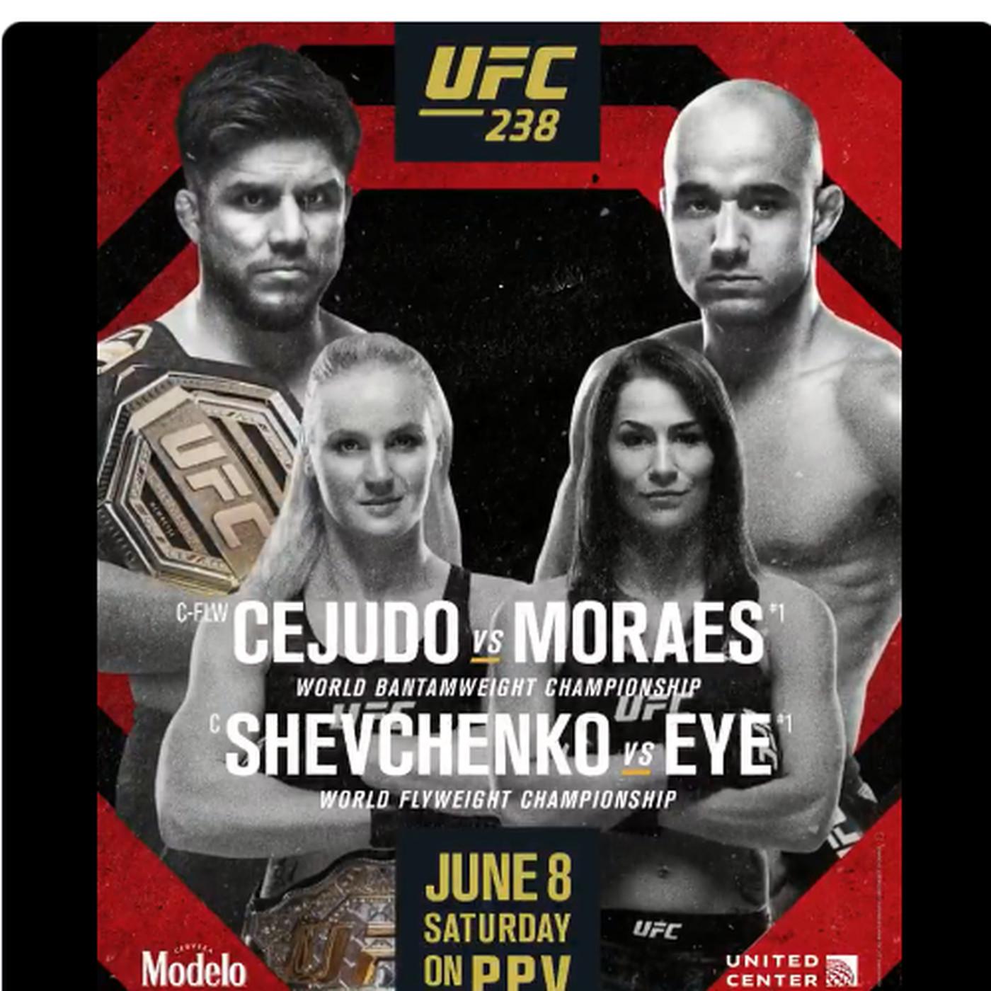 Pic: Official UFC 238 poster d...