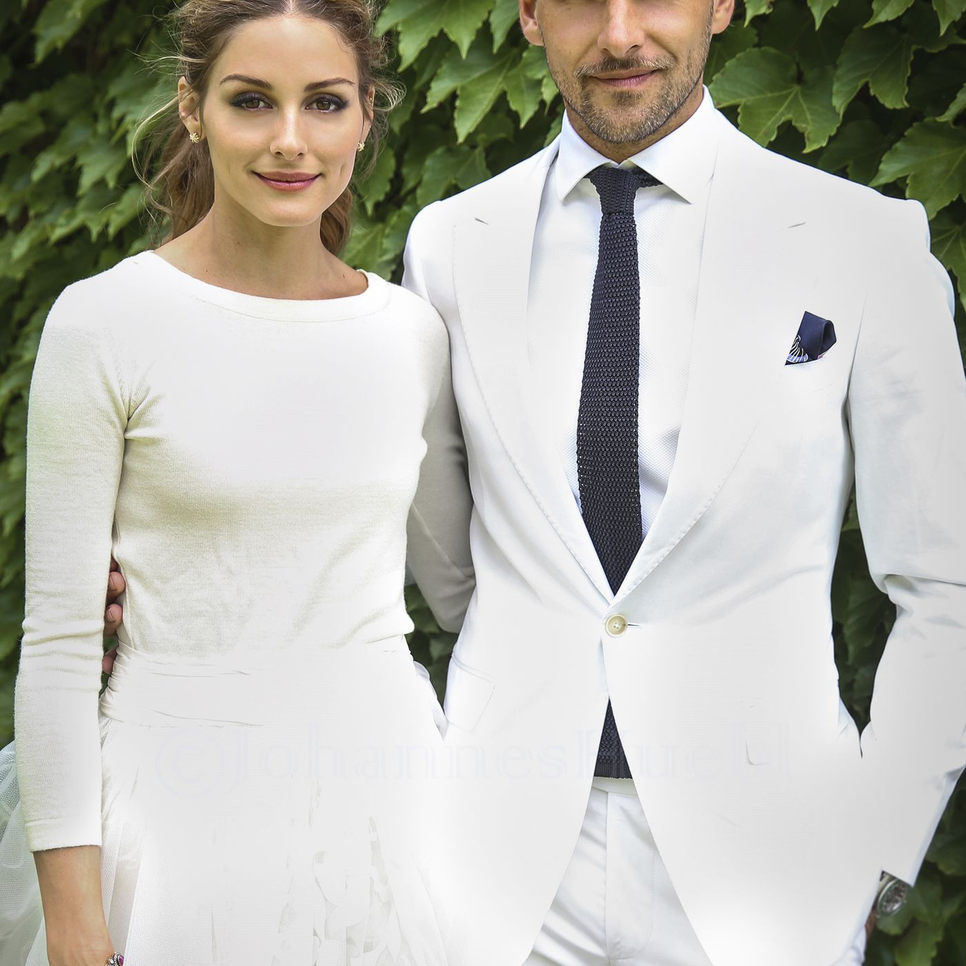 Olivia Palermo Wedding.Olivia Palermo Got Married In A Fancy Skort Racked