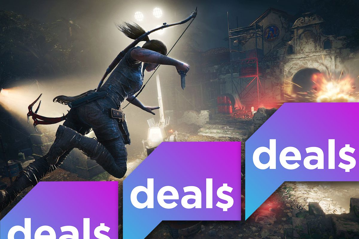 best gaming deals nintendo 3ds shadow of the tomb raider and more