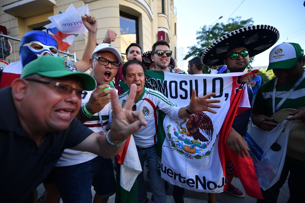 Mexico Arrive to Rostov-on-Don - FIFA World Cup Russia 2018