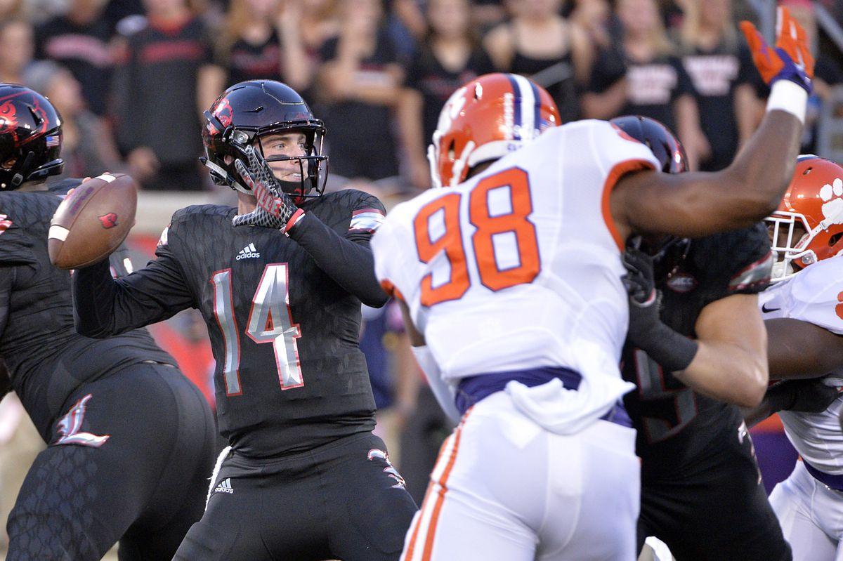 NCAA Football: Clemson at Louisville