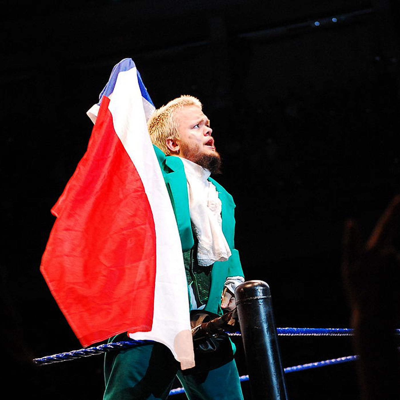 Hornswoggle tells story of having heat with The Rock - Cageside Seats