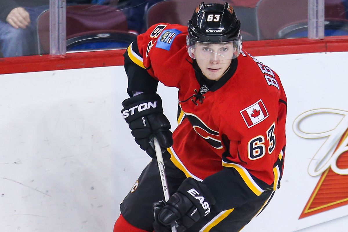Calgary Flames 2014 1st round draft pick Sam Bennett will be making his NHL debut very, very soon.