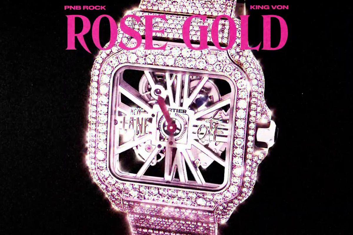 """PnB Rock's """"Rose Gold"""" artwork"""